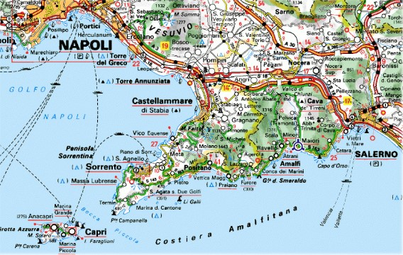 Positano The Amalfi Coast Capri Sorrento Napoli