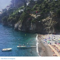 Celebrity Vacations in Positano The Amalfi Coast Italy