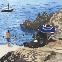 Tony Bennett Paints The Amalfi Coast
