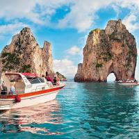 Boat Tour  Sorrento to Capri
