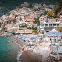 My Favorite Beach in Positano