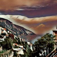 Positano Art by Daniel Bellino Zwicke
